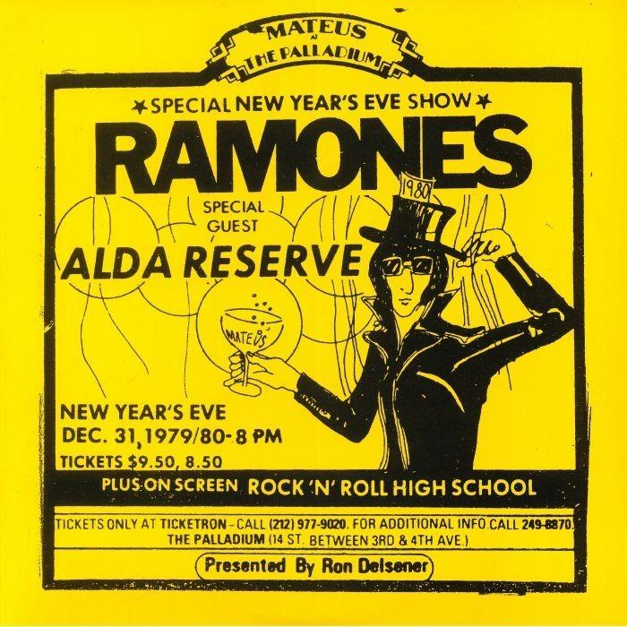 Ramones-Live At The Palladium, New York, Ny 79 80 2 LPS