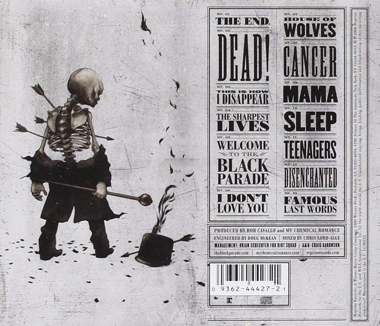 My Chemical Romance - The Black Parade CD