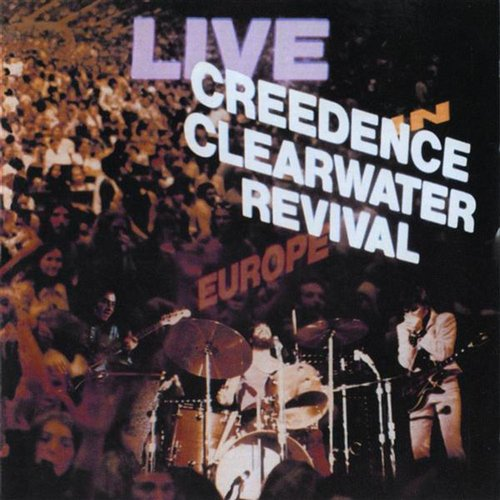 Creedence Clearwater Revival-Live Europe 2 LPS