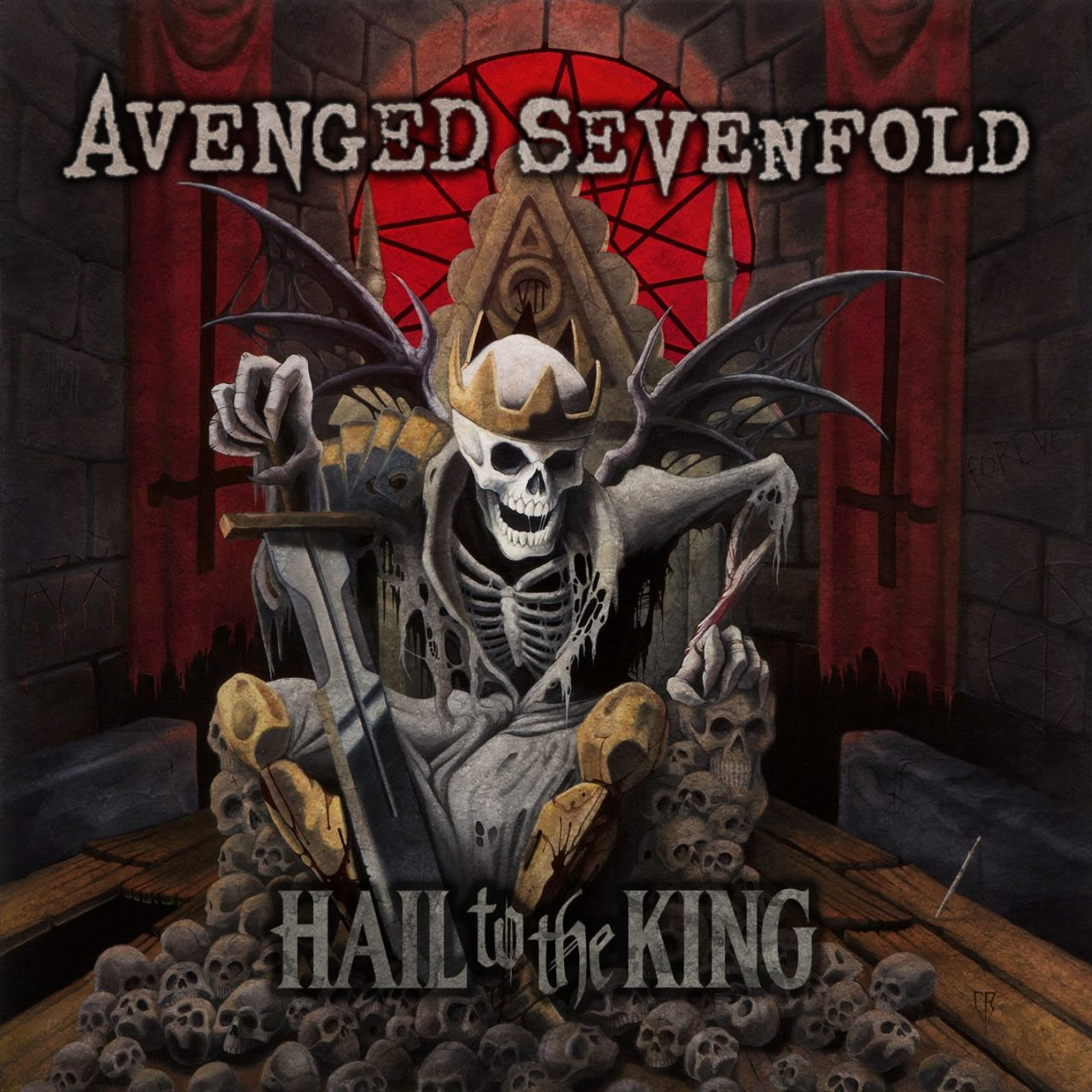 Avenged Sevenfold-Hail To The King 2 LPS