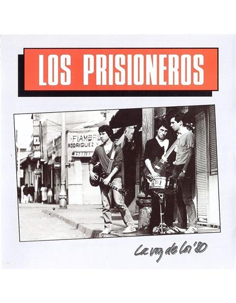 Cd Los Prisioneros - La Voz De Los 80