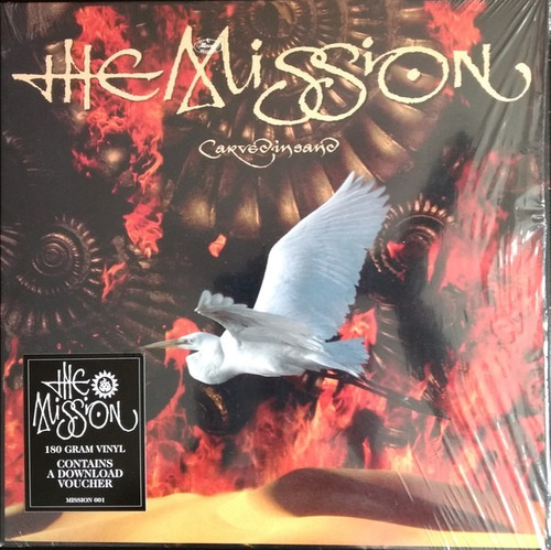 The Mission Carved In Sand LP