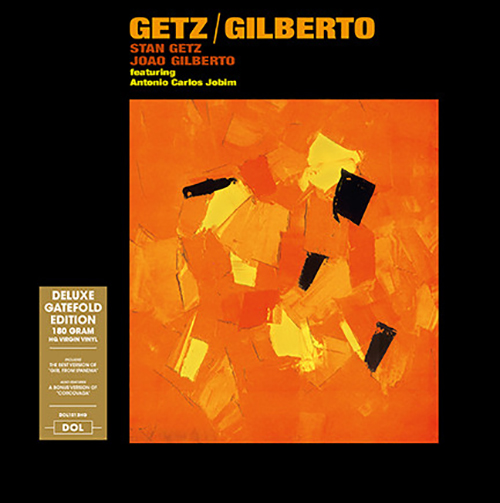 Stan Getz, Joao Gilberto Featuring Antonio Carlos Jobim LP