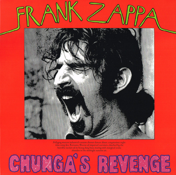 Frank Zappa - Chunga's Revenge LP