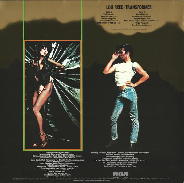 Lou Reed - Transformer LP