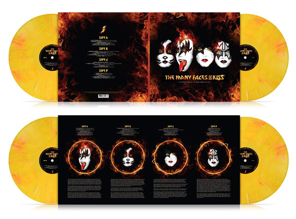 Kiss-The Many Faces Of Kiss: A Journey Through The World 2 LPS