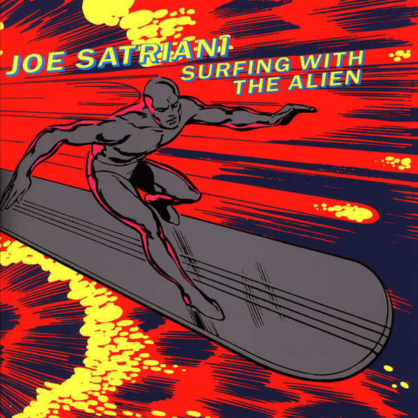oe Satriani ¿ Surfing With The Alien Lp