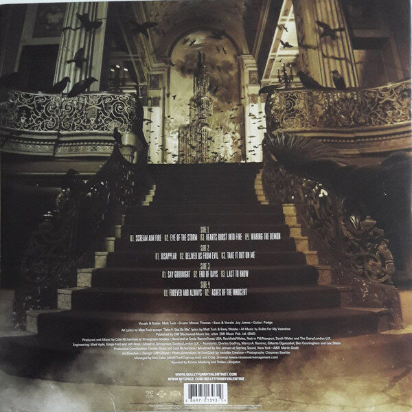 Bullet For My Valentine - Scream Aim Fire 2LPs