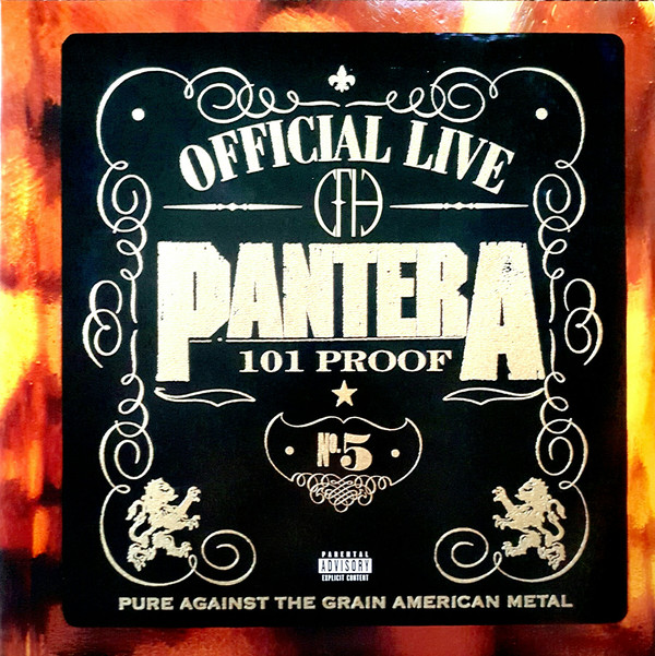 Pantera-Official Live: 101 Proof 2 LPS