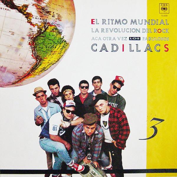 Los Fabulosos Cadillacs-El Ritmo Mundial LP