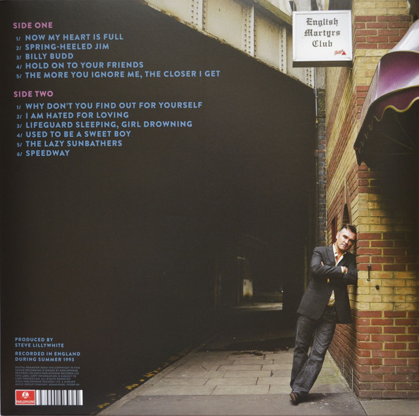 Morrissey - Vauxhall And I LP