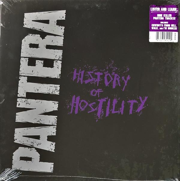 Pantera History Of Hostility LP