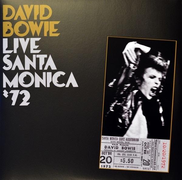 David Bowie-Live Santa Monica '72 2 LPS