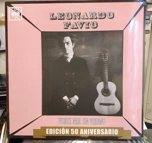 Leonardo Favio-Fuiste Mia Un Verano LP