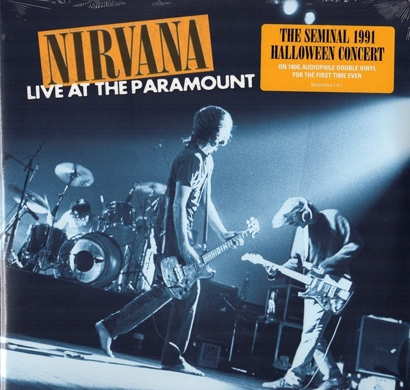 Nirvana-Live At The Paramount 2 LPS