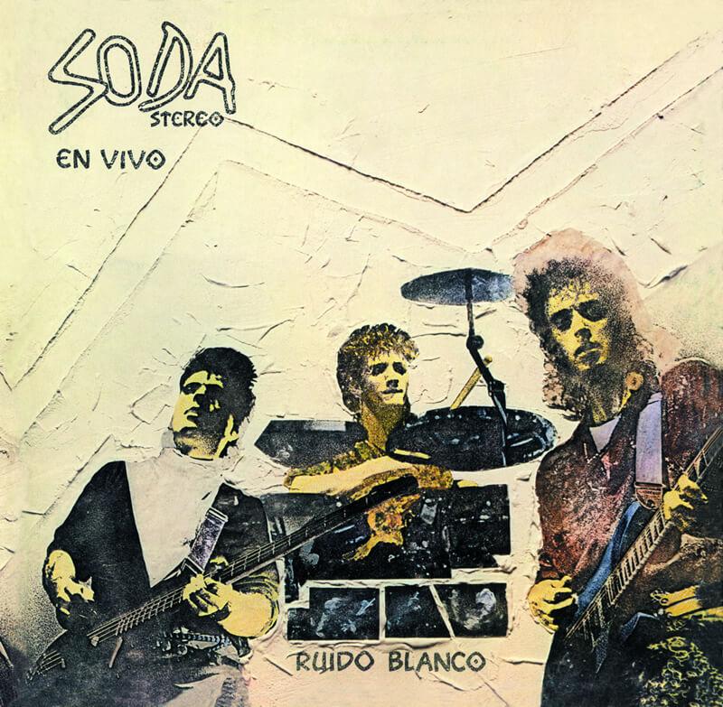 Soda Stereo - Ruido Blanco - En Vivo LP