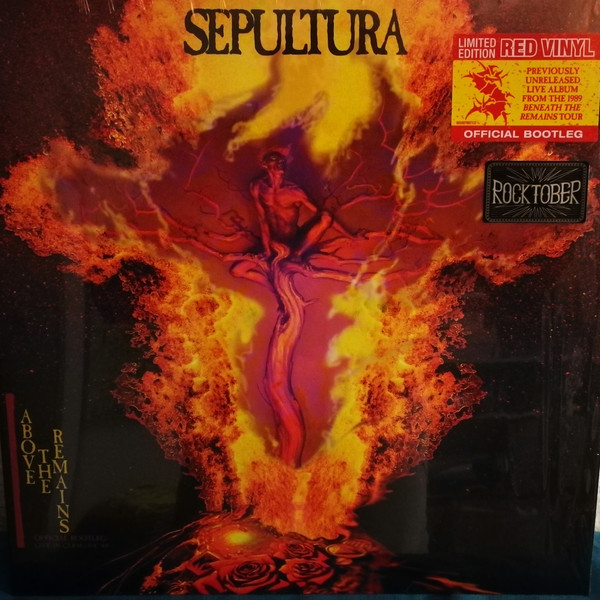 Sepultura – Above The Remains (Official Bootleg: Live In Germany '89)