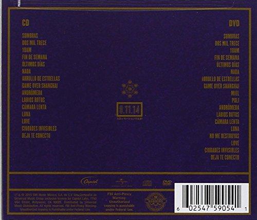Zoé - 08.11.14 En Vivo En El Foro Sol CD+DVD