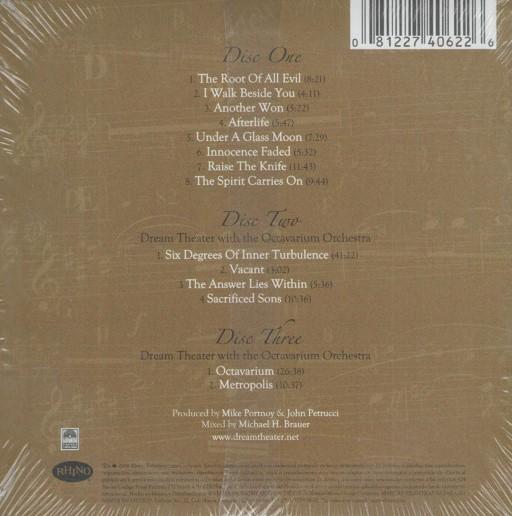 Dream Theater - Score (20th Anniversary World Tour) 3CD