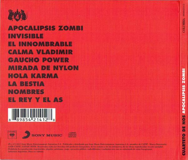 Cuarteto De Nos - Apocalipsis Zombi CD