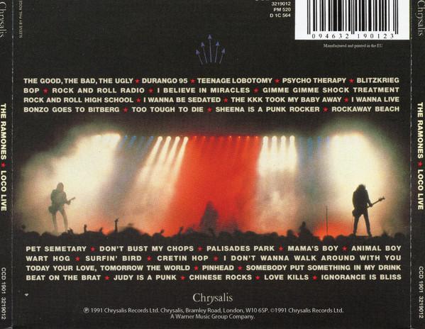 Ramones - Loco Live CD