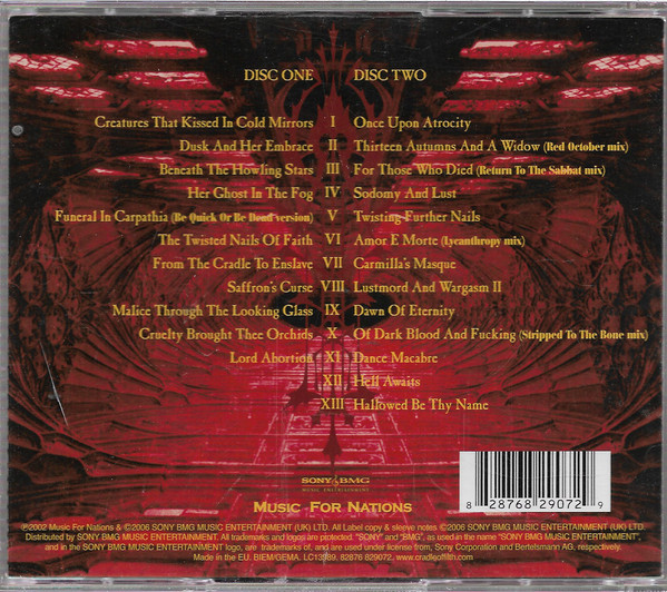 Cradle Of Filth – Lovecraft & Witch Hearts