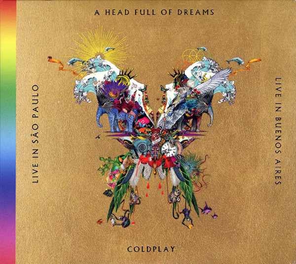Coldplay - Live In Buenos Aires / Live In São Paulo / A Head Full Of Dreams 2CD+2DVD