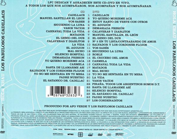 Los Fabulosos Cadillacs - Hola   Chau CD+DVD
