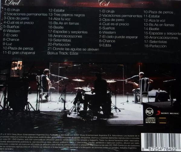 Attaque 77 - Acústico - Teatro Opera, Bs As, Argentina 1DVD+1CD