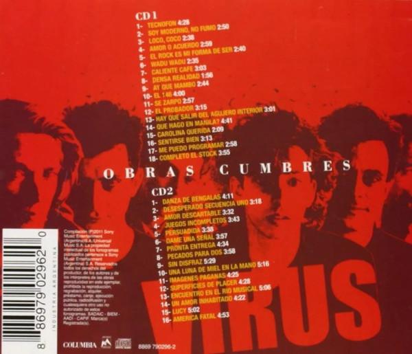 Virus - Obras Cumbres 2CD