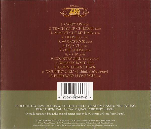 Crosby, Stills, Nash & Young - Déjà Vu CD