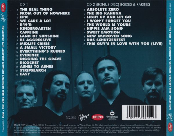 Faith No More - The Very Best Definitive Ultimate Greatest Hits Collection 2CD