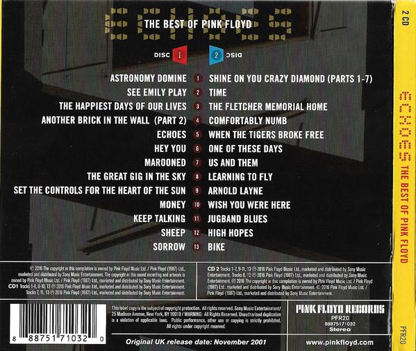 Pink Floyd - Echoes (The Best Of Pink Floyd) 2CD
