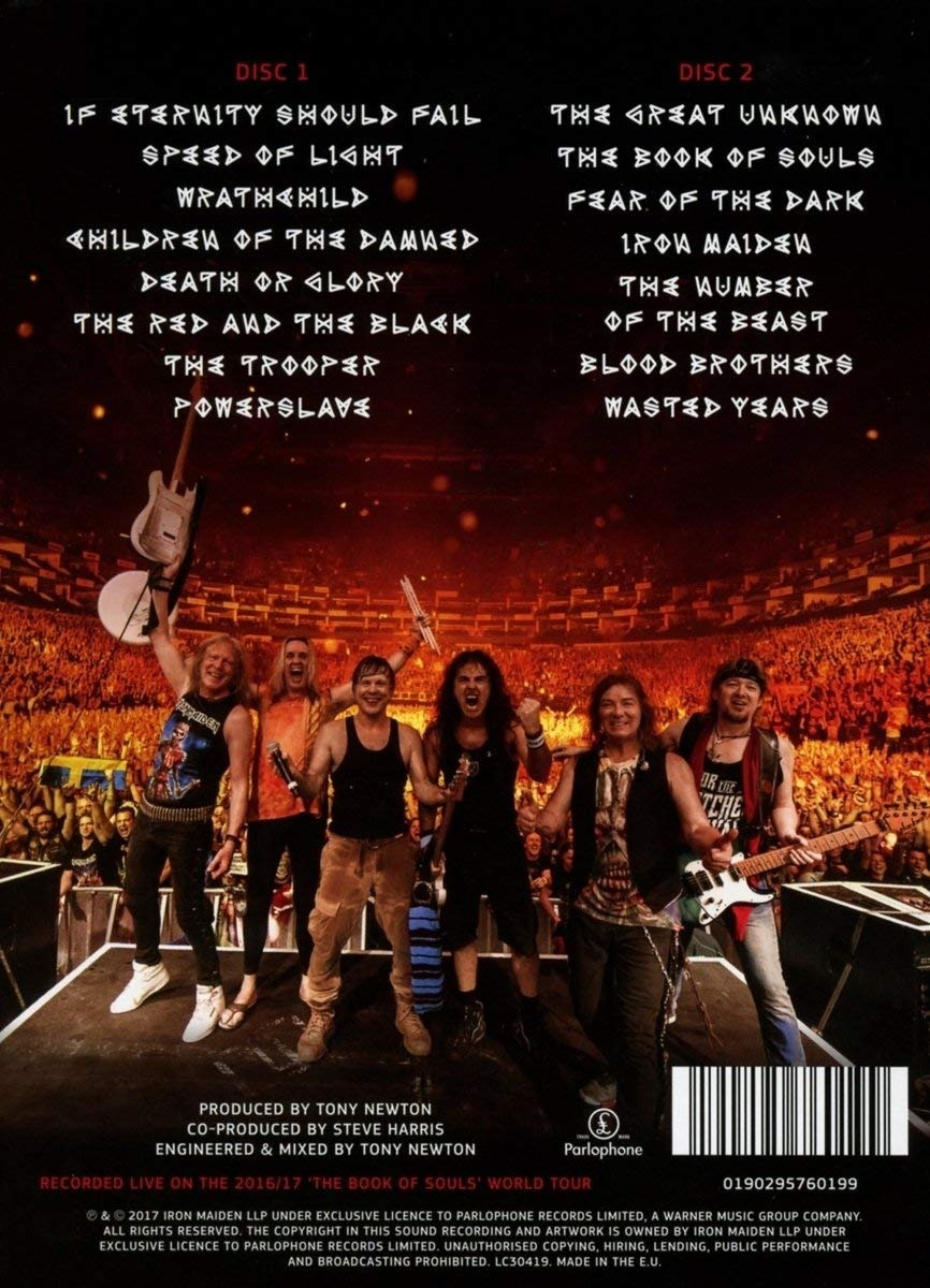Iron Maiden - The Book Of Souls: Live Chapter 2CD