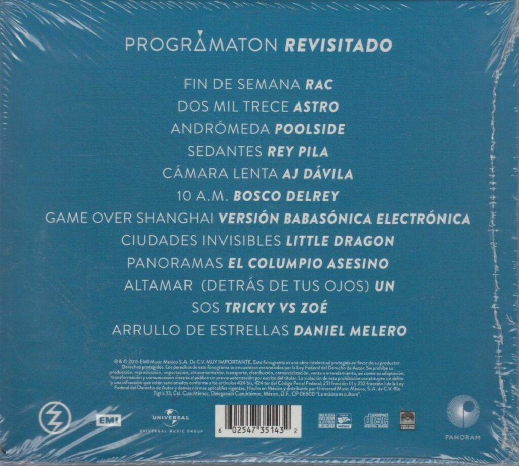 Zoé - Prográmaton Revisitado CD