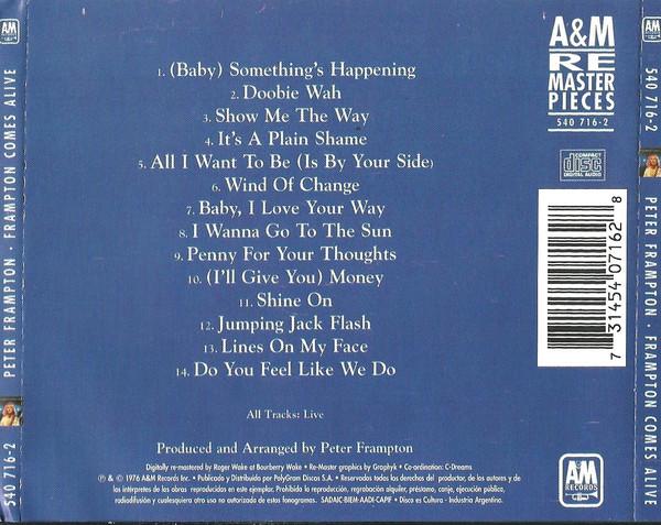 Peter Frampton - Frampton Comes Alive! CD