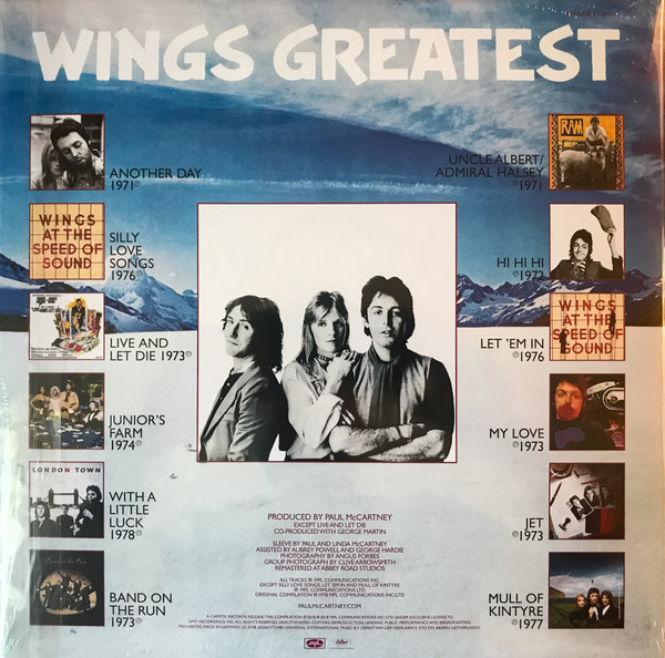 Wings - Wings Greatest LP