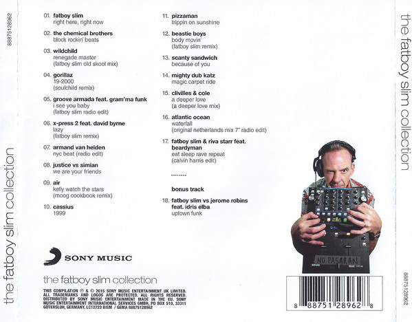 Fatboy Slim - The Fatboy Slim Collection CD