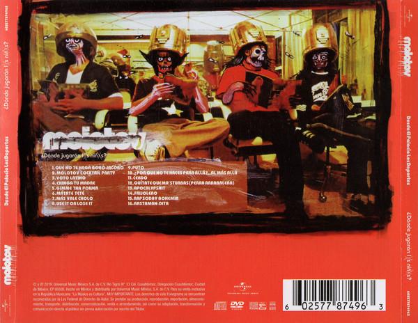 Molotov - ¿Dónde Jugarán Lxs Niñxs? CD+DVD