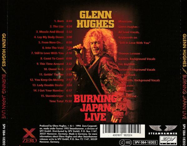 Glenn Hughes – Burning Japan Live