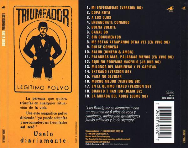 Los Rodriguez - Hasta Luego CD