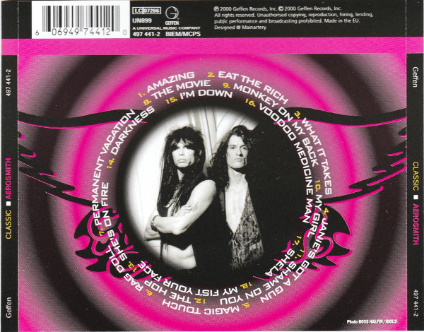 Aerosmith - Classic Aerosmith CD