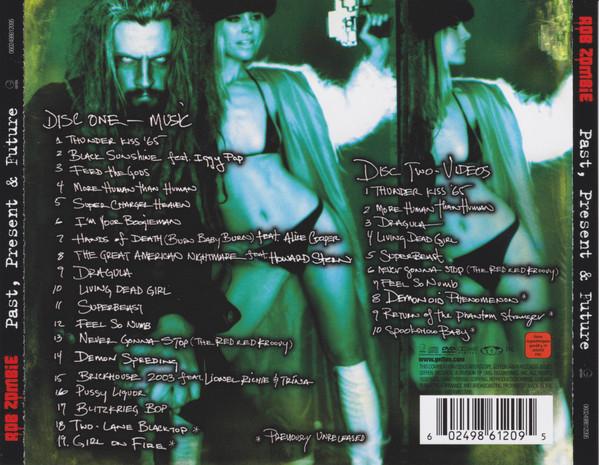 Rob Zombie - Past, Present & Future CD+DVD