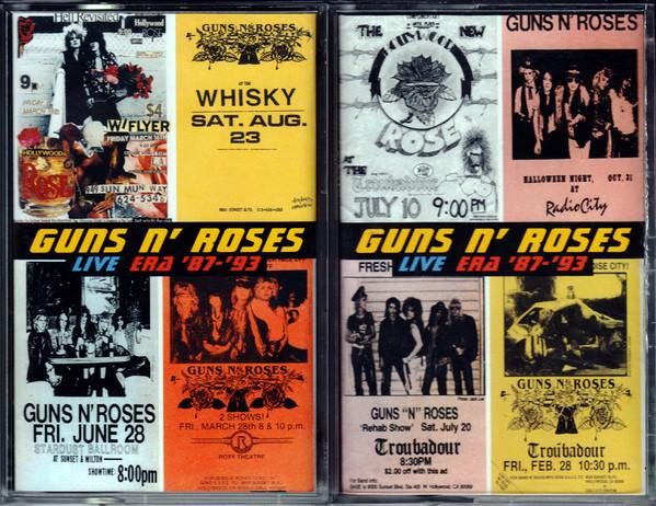 Guns N' Roses - Live Era '87-'93 2CASSETTE
