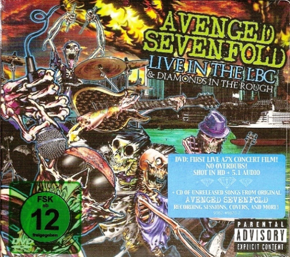 Avenged Sevenfold - Live In The LBC & Diamonds In The Rough DVD+CD