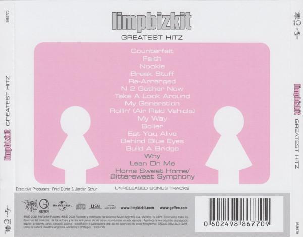 Limp Bizkit - Greatest Hitz CD