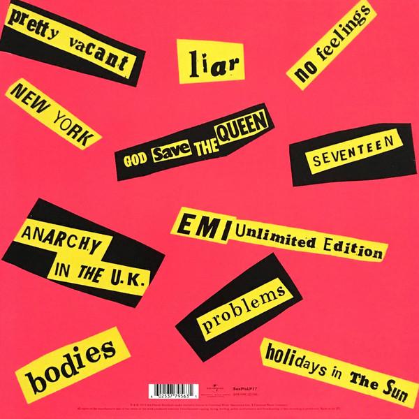 Sex Pistols - Never Mind The Bollocks, Here's The Sex Pistols LP
