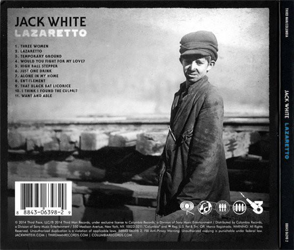 Jack White - Lazaretto CD