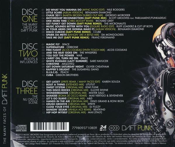 Varios - The Many Faces Of Daft Punk 3CD