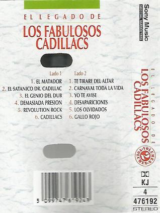 Los Fabulosos Cadillacs - El Legado De Los Fabulosos Cadillacs (Volumen 2) CASSETTE